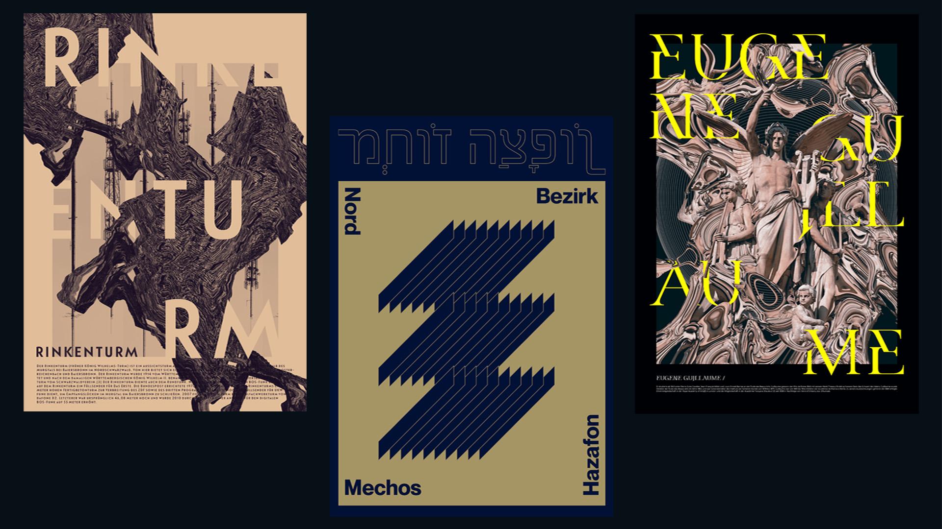 Random Wikipedia Posters – Max Bodendorf